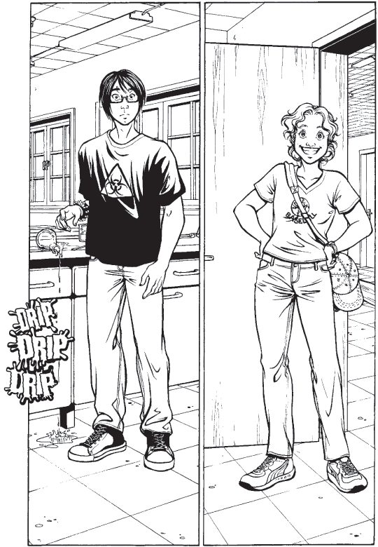 Page 4: Drip drip drip…