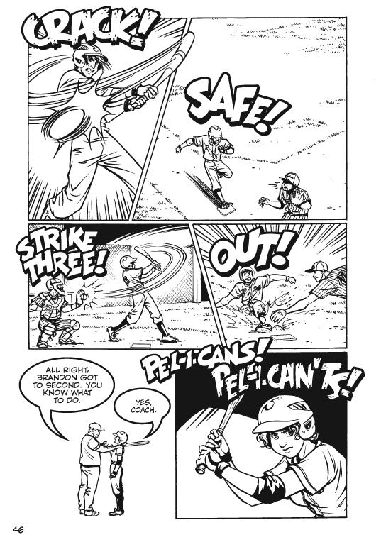 Page 46: Dicey at bat